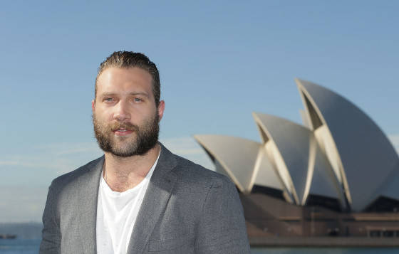 SYDNEY, AUSTRALIA - JUNE 04:  Jai Courtney poses during a 'Terminator Genisys' photo call at the Park Hyatt Sydney on June 4, 2015 in Sydney, Australia.  (Photo by Mark Metcalfe/Getty Images for Paramount Pictures International) *** Local Caption *** Jai Courtney