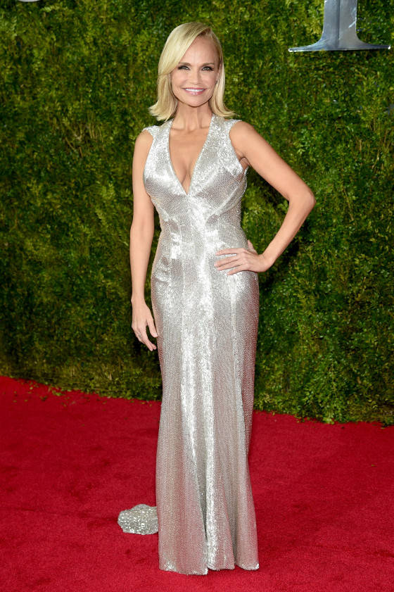 NEW YORK, NY - JUNE 07:  Actress Kristin Chenoweth attends the 2015 Tony Awards  at Radio City Music Hall on June 7, 2015 in New York City.  (Photo by Dimitrios Kambouris/Getty Images for Tony Awards Productions)