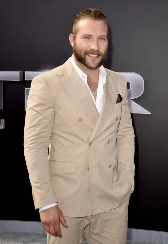 HOLLYWOOD, CA - JUNE 28:  Actor Jai Courtney attends the LA Premiere of Paramount Pictures' 'Terminator Genisys' at the Dolby Theatre on June 28, 2015 in Hollywood, California.  (Photo by Kevin Winter/Getty Images for Paramount Pictures) *** Local Caption *** Jai Courtney