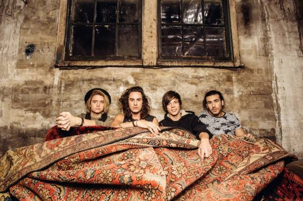 LITTLE SEA ANNOUNCE NEW EP 'WITH YOU, WITHOUT YOU' ON SALE JUNE 26TH