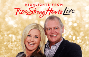 JOHN FARNHAM AND OLIVIA NEWTON-JOHN 'TWO STRONG HEARTS LIVE' RELEASED TODAY