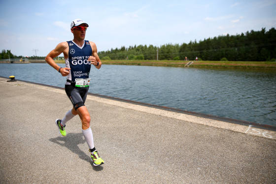 ROTH, GERMANY - JULY 12:  Timo Bracht of Germany competes in the run leg during the Challenge Triathlon Roth on July 12, 2015 in Roth, Germany.  (Photo by Jordan Mansfield/Getty Images for Challenge Triathlons) *** Local Caption *** Timo Bracht