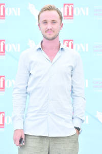 GIFFONI VALLE PIANA, ITALY - JULY 21:  Actor Tom Felton attends Giffoni Film Festival 2015 photocall on July 21, 2015 in Giffoni Valle Piana, Italy.
