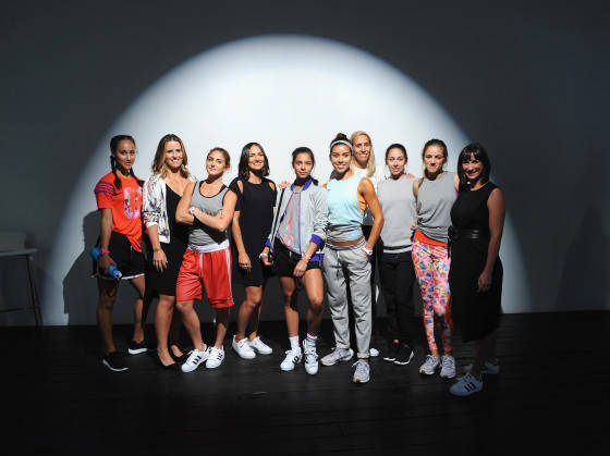 NEW YORK, NY - JULY 22: adidas Unveils The adigirl Collection on July 22, 2015 in New York City.