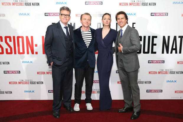 MISSION IMPOSSIBLE – ROGUE NATION' LAUNCHES IN  UK WITH STARS