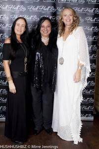 Anna Waters-Massey, Caroline Russo and Tara Page