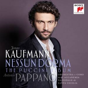 Kaufmann 'Nessun Dorma' Album Artwork