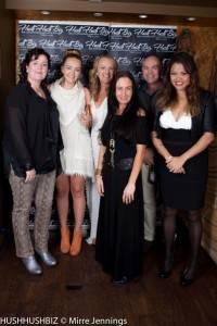 Anna Waters-Massey , Tara Page, Tracie Filmer, Cleo Massey, Stephen Massey  and Libby Bancroft