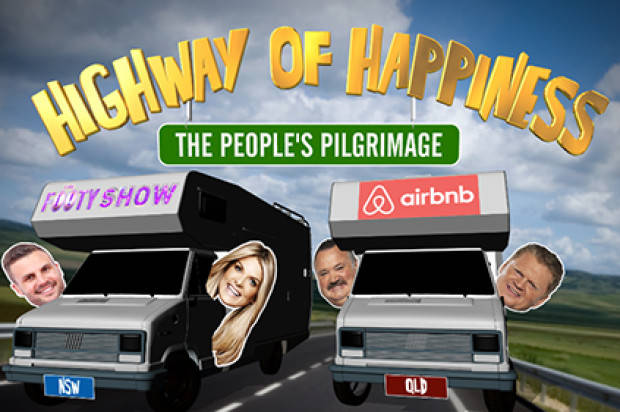 NRL FOOTY SHOW HEAD OUT ON THEIR HUGE HIGHWAY OF HAPPINESS TOUR
