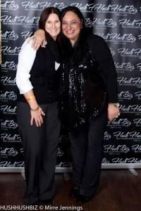 Lynda Curry and Caroline Russo