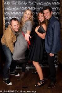 Kylie Loveday, Peta Carolain, Steve Nation and Joel Pierce