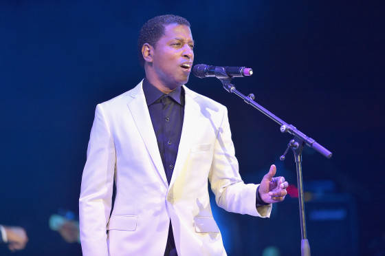 Kenny Babyface Edmonds performs at the 2015 Ford Neighborhood Awards Hosted By Steve Harvey at Phillips Arena on August 8, 2015 in Atlanta, Georgia.