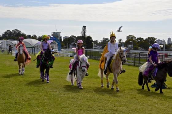 Saturday's Magical Unicorn Race!