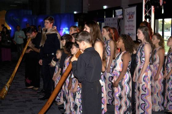 Yugambeh Museum Choir and Didge Orchestra