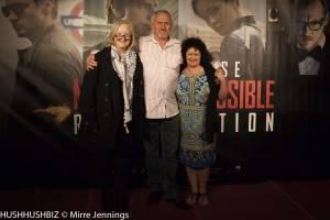 Jim Symes, Di Riley and Elizabeth Symes