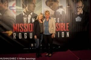 Julie Mathias and Linda Coonan
