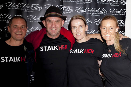 Kym Glover , Mark Wilkins, Lesley Glover and Jodie Fitness