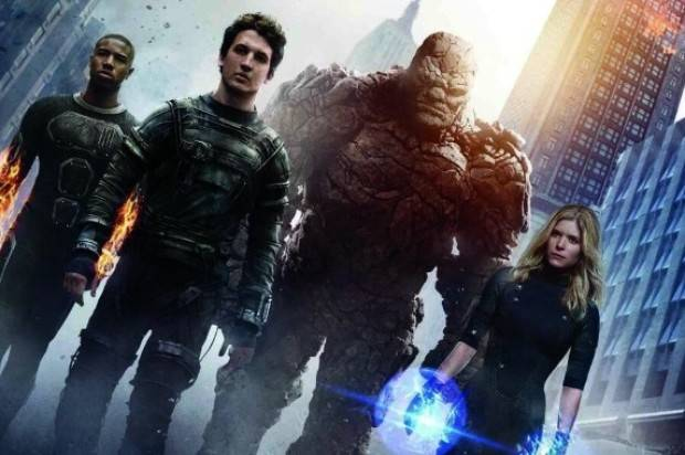FANTASTIC FOUR FILM REVIEW BY PETER GRAY