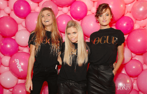 ALLI SIMPSON HOSTS JT ONE SLUMBER PARTY DURING VOGUE'S FASHION NIGHT OUT