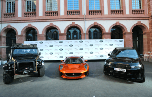 JAGUAR LAND ROVER PRESENTS JAMES BOND VEHICLES