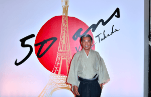 KENZO TAKADA CELEBRATES 50 YEARS IN PARIS