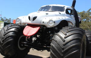 MONSTER JAM TRUCKS DRIVE INTO BRISBANE