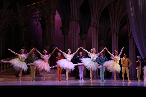 Queensland Ballet - The Sleeping Beauty - Fairies and Fairy Cavaliers Image 4. Photo David Kelly