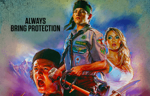 CHECK OUT THE NEW POSTER FOR 'SCOUTS GUIDE TO THE ZOMBIE APOCALYPSE'