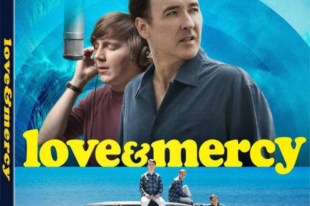 GIVE AWAY OF FIVE  DVDs OF : LOVE & MERCY