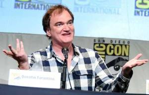 DIRECTOR QUENTIN TARANTINO LEADS :THE RISE UP OCTOBER RALLY