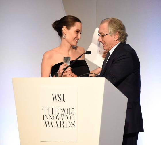 Angelina Jolie-Pitt; Robert DeNiro