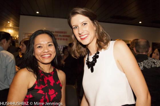 Caroline DeWitt and Kim Tuohy