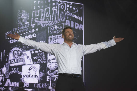 Hugh Jackman Broadway to Oz photo credit James Morgan 2