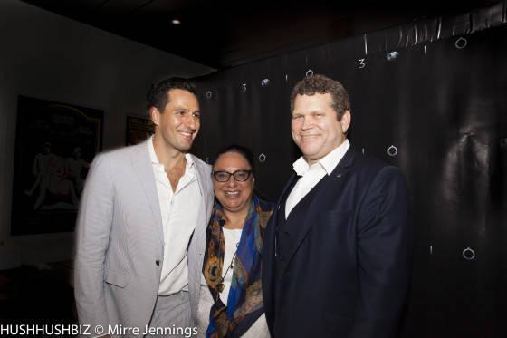 John Batchelor, Radek Jonak and Caroline Russo