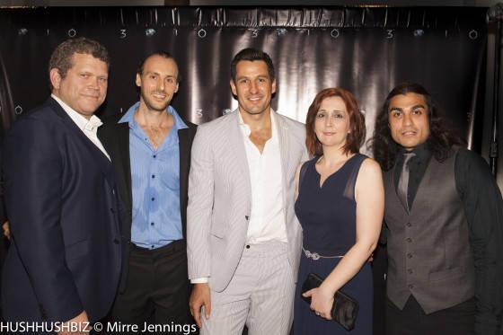 John Batchelor, Simon Smith, Radek Jonak,Sarah DInsey and  Michael Rodriguez