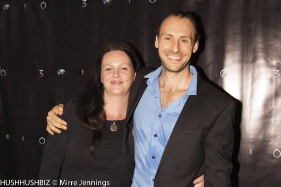Kylie Button and Simon Harvey  Smith