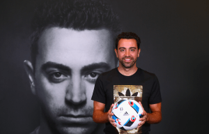 ADIDAS AMBASSADOR XAVI MEETS FOOTBALL FANS AT NEW DUBAI STORE