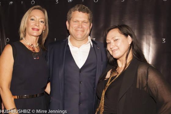 Sharon Jaklofsky John Batchelor and Mirre Jennings