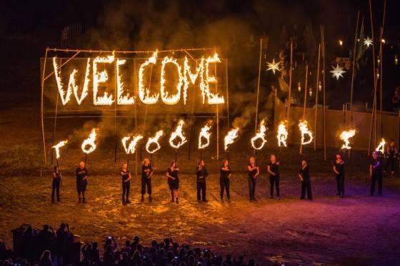 Woodford Folk Festival 2014-15 Opening Ceremony.