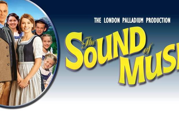 THE HILLS ARE ALIVE WITH THE SOUND OF THE VON TRAPP CHILDREN