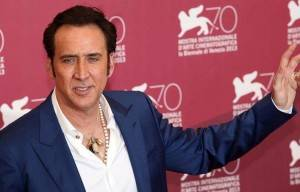 "NICOLAS CAGE TO DIRECT AND STAR IN  ""VENGEANCE: A LOVE STORY"""