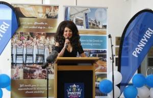 Greek Goddess Effie… Kicks Off The Paniyira Greek Festival 2016