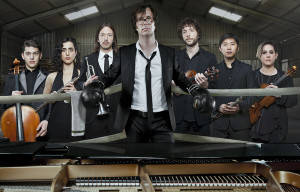 BEN FOLDS WITH YMUSIC AT THE QUEENSLAND PERFORMING ARTS CENTRE