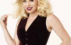 BLONDE BOMBSHELL MEGAN HILTY TO BE A 'SMASH' HIT AT QPAC