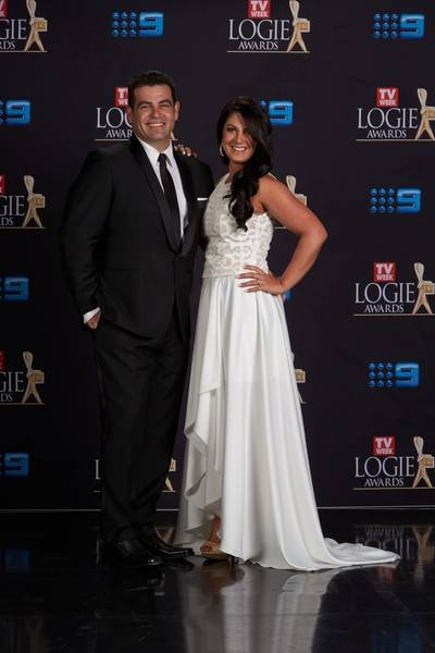 Tim and Anastasia (The Block)_Logies 2016