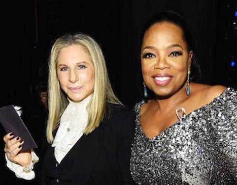 Barbra Streisand;Oprah Winfrey