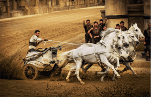 GO BEHIND THE SCENES OF 'BEN-HUR' FILM