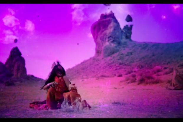GET A SNEAK PEEK AT RIHANNA'S NEW MUSIC VIDEO FOR 'SLEDGEHAMMER'