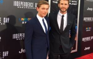 RED CARPET PREMIER LEAD BY  TEEN ACTOR GARRETT WAREING