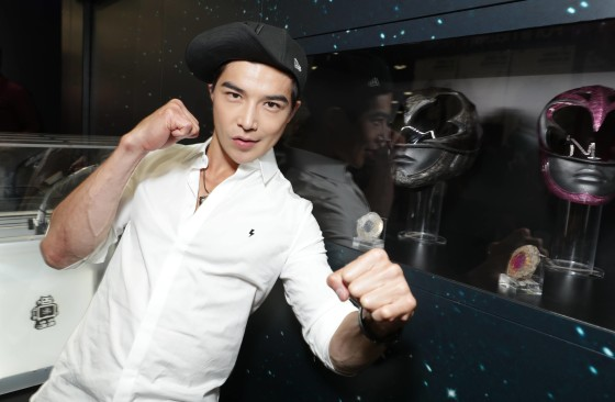 Ludi Lin (Zack, the Black Ranger)